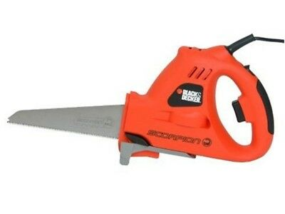 Electric Hacksaw BlackDecker Powered Hand Tool Cutting Wood Metal and Plastic