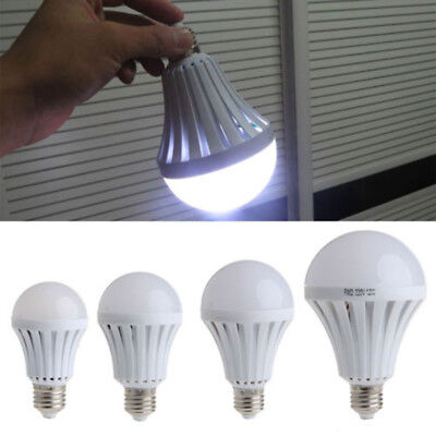 7w New 5w Led E27 220v Light Bulb 12w Outdoor Emergency Lamp Camping Automatic