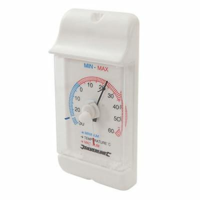 Silverline 573268 Min/Max Dial Thermometer -30° to +60°C