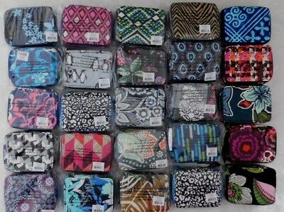 Vera Bradley Travel Pill Case U-Pick Color Pattern Nwt 8 Compartments Zippered