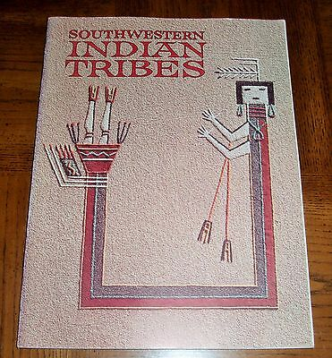 Southwestern Indian Tribes - 1973 Soft Cover Book - Map Of Indian Reservations