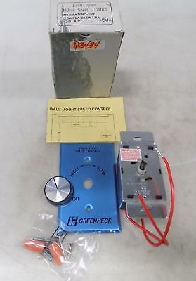 Kb Electronics Solid State Motor Speed Control Kbwc-15K