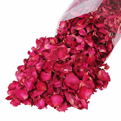 50g  Rose Buds Bulk Dried Blooms Flowers Very Fresh Biodegradable Confetti