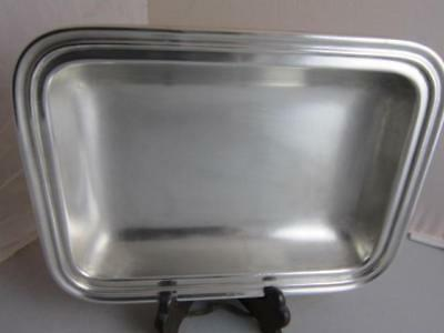 Reed & Barton Silver Soldered 2311 Prudential lines,inc Rare Serving Tray