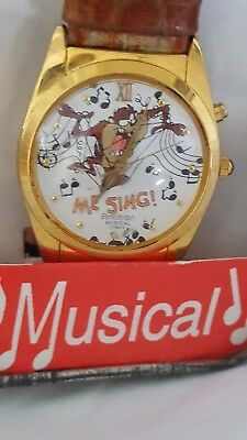 1994 Musical Tazmanian Devil Watch still works and plays a tune. Great piece