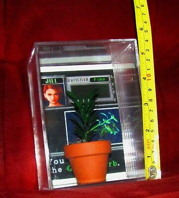 "L@@K~~Resident Evil(inspired By) LARGE 4"" GREEN HERB..See Pics!.(BRAND NEW)"