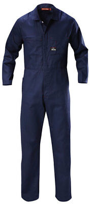 HARD YAKKA COVERALL LIGHTWEIGHT Gusseted sleeves Utility pockets Y00030