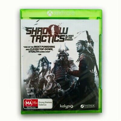 Shadow Tactics Blades of Shogun Xbox One ✓ NEW ✓ OZI ✓ SEALED ✓ Aussie X1 Game!