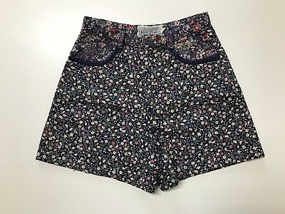 pantalone donna short Natural Ornaments tag. M fiori woman vintage retrò  PD11