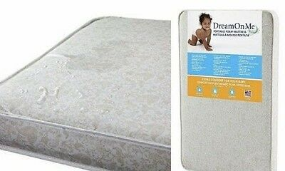 "Pack 'n Play Graco 3"" Mattress Dream On Me Foam with Bacterial Waterproof Cover"