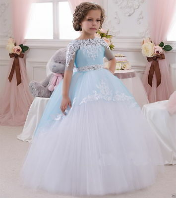 Flower Girl Dress Prom Formal Pageant Wedding Easter Graduation Bridesmaid Dress