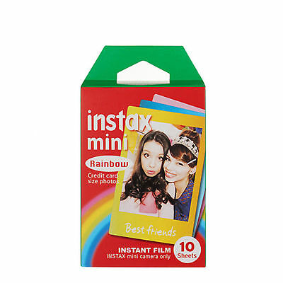 10 sheets Impossible Project Instant Color Film for Polaroid 300 Cameras