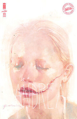 WALKING DEAD #178 - Cover B Sienkiewicz - ANDREA - NM - Image - Presale 04/04