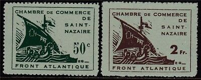 II. WK 1945 Nr. 1-2 (*) St. Nazaive KW 600€