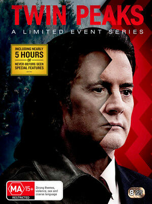 Twin Peaks: A Limited Event Series  - DVD - NEW Region 4