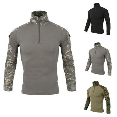 Tactical New Army T-shirt Casual Shirts Fit Camouflage Tee Jungle Tops Military