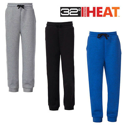 NWT!! 32 Degrees Heat Kids Boys Jogger Sweat Pants Heather Choose Size and Color