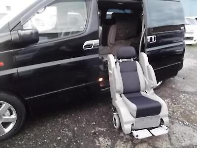 2003 Nissan Elgrand 3.5 Auto Highway Star Disabled Access Seat With Wheelchair