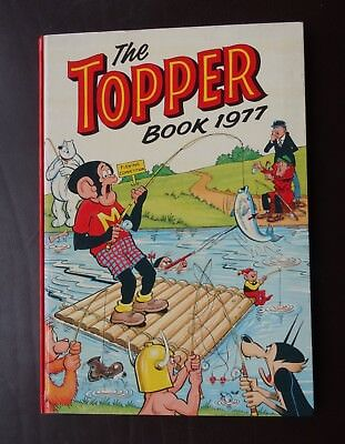 The Topper Book 1977 by DC Thompson Price Upclipped