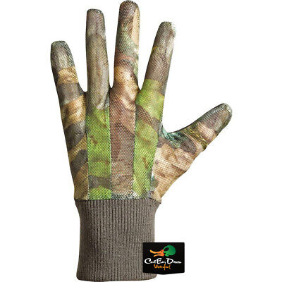 Drake Waterfowl Ol Tom Turkey Mesh Back Gloves Nwtf Obsession Camo Medium 3619d9fa085c