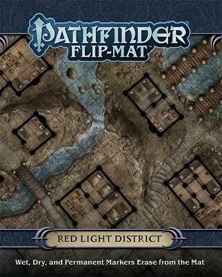 Pathfinder Role Playing Game -  Red Light District Flip-Mat
