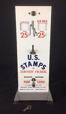 VINTAGE USPS Postage Stamp Machine Coin-Operated - Vending