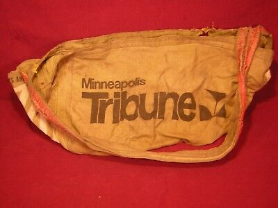 Vintage Minneapolis Tribune paperboy bag