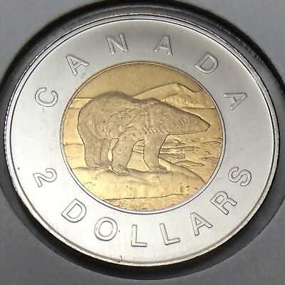 2009 Canada Specimen 2 Two Dollar Toonie Canadian Uncirculated Coin E485