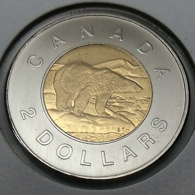 2006 Canada Specimen 2 Two Dollar Toonie Canadian Uncirculated Coin E487