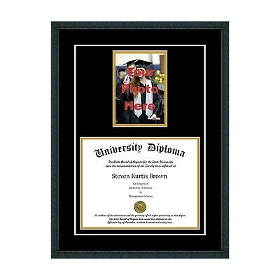GRADUATION DIPLOMA AND Tassel Frame Display Case Box 11 x 8.5 w ...