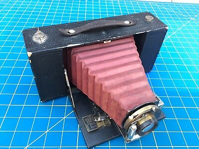 Kodak Folding Brownie No. 3-A With Red Bellows