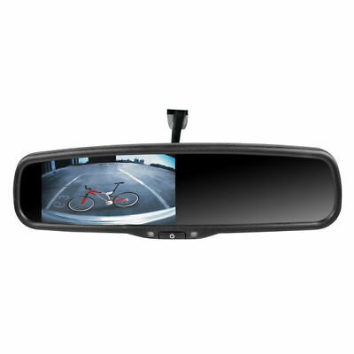 "ROADGEAR MOBILE 4.3"" Dual Video Input Mirror Monitor 