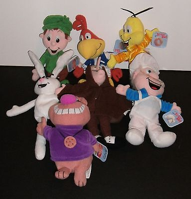 General Mills 1997 Breakfast Babies with Tags Complete Lot of 7 Lucky Trix Sonny