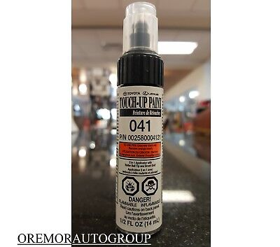 Camry White Touch Up Paint 041 Genuine Toyota OEM