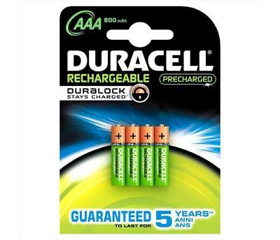 Pile - Batterie DURACELL - Mini Stilo Ricaricabile - AAA   Altezza 120 mm