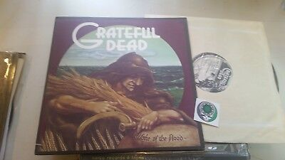 GRATEFUL DEAD WAKE OF THE FLOOD LP 1973 orig gd-01 vinyl jerry garcia w/sticker!