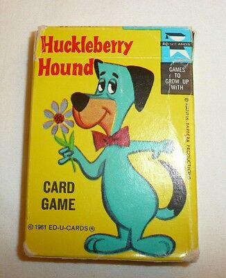 REPLACEMENT CARDS - Vtg 1961 1967 Huckleberry Hound Card Game by Ed-u-Cards