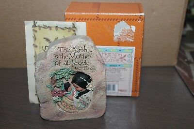 Enesco Friends of the Feather The Earth Is the Mother of All People Plaque