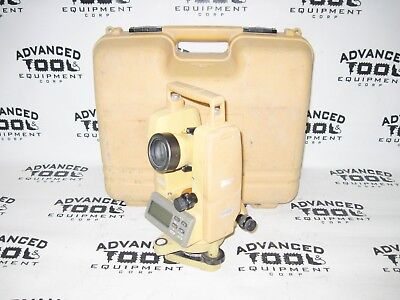 Topcon DT-209 Optical Digital Theodolite w/ Free Carrying Case DT-200