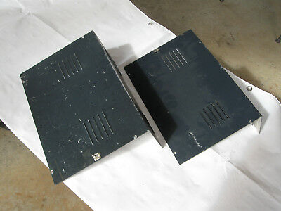 Cushman CE-3 Radio Service monitor sides and tops. Sheet metal only with speaker
