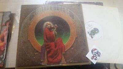 Grateful Dead LP 1975 Blues for Allah orig jerry garcia w/fan skull STICKER rare