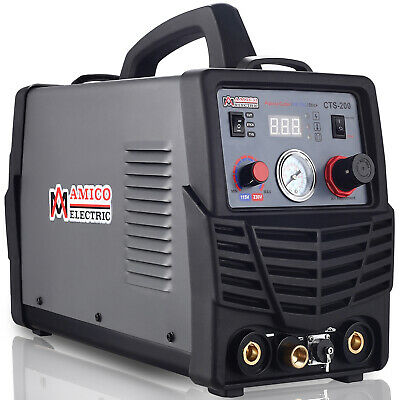 Amico CTS-200 3-IN-1 50A Plasma Cutter 200A TIG/Stick/Arc Combo Welder Welding