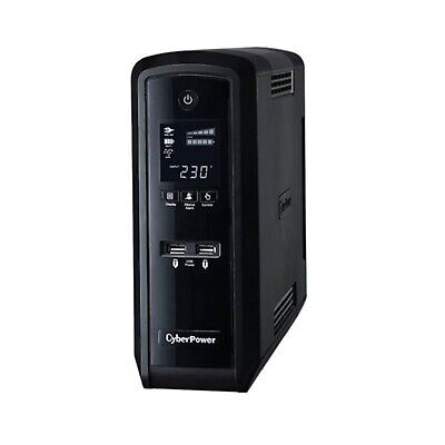 CyberPower PFC Sinewave 1300VA/780W (10A) Tower UPS LCD CP1300