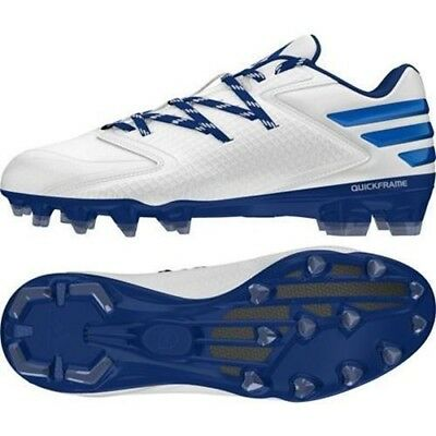 Adidas Men's Performance X Carbon low football cleats White/Collegiate Royal/Col