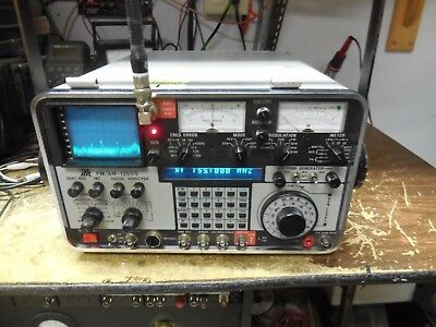 IFR FM/AM-1200S 1200S Service Monitor *Calibrated* FW 1.51   *no front  cover*