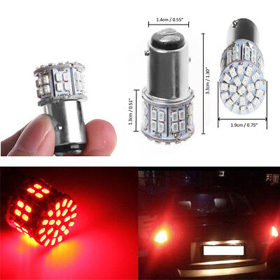 4 Pcs Super Bright Car 3W 50 SMD Red LED Light for Turn/Tail/Stop/Reverse Lamp