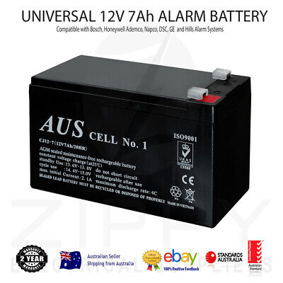 Bosch 12V 7Ah Rechargeable AGM Deep Cycle Alarm Battery