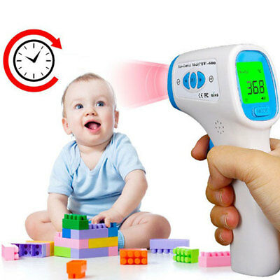 Digital Non-contact IR Infrared Thermometer Baby Forehead Body Temperature Eyefu