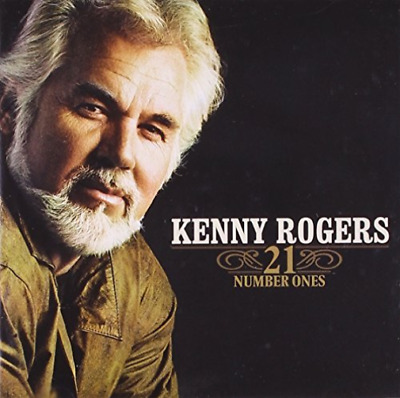 Kenny Rogers-21 Number Ones  CD NEW