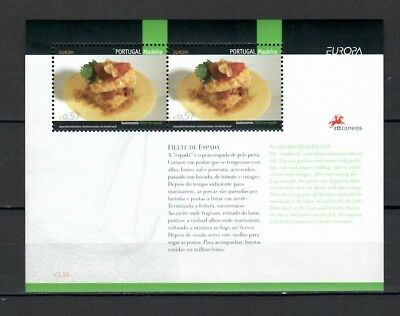 s21779) MADEIRA 2005 EUROPA CEPT MNH**  S/S Traditional food